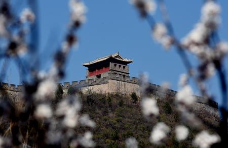 Beijing Changping Juyongguan Great Wall 版權商用圖片