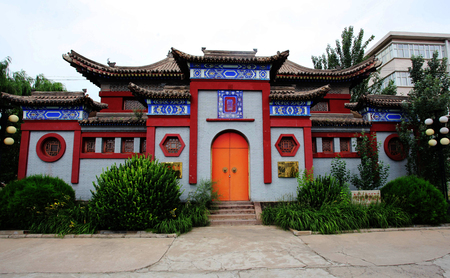 The site of the Episcopal Church in Xuanhua, Hebei