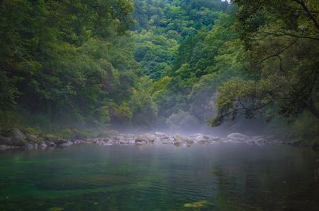 Natural scenery of Taibai Mountain Scenic Spot, Baoji City, Shaanxi Province.