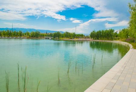 Xinjiang Yili Gongliu Butterfly Lake Scenic Area