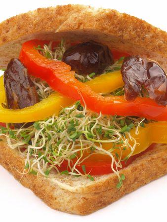 vegetarian sandwich         photo