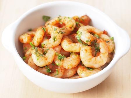spicy shrimps Stock Photo - 8277471