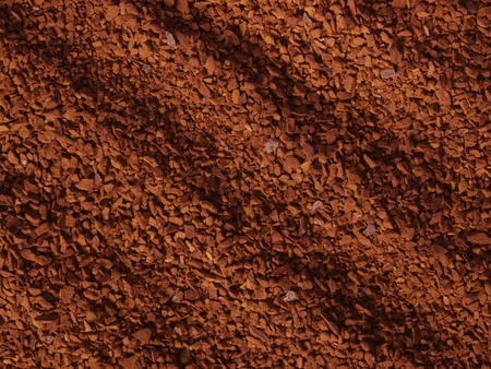 granules: processed coffee granules Stock Photo