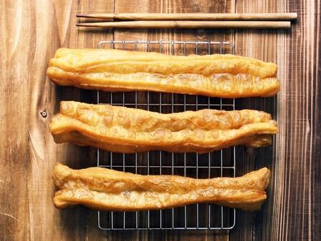 bign�: frittelle di pasta asiatico      Archivio Fotografico