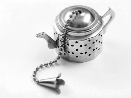 tea filter: tea filter        Stock Photo