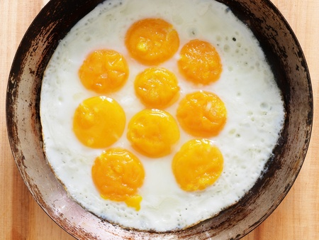 sunnyside: fried eggs
