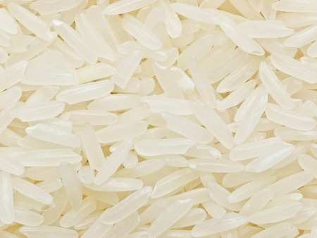 raw white polished rice 写真素材