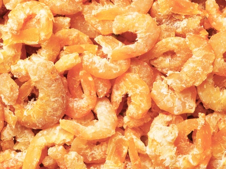 dried shrimps photo