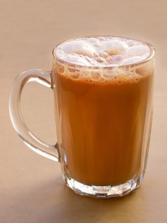 asian pulled milk tea