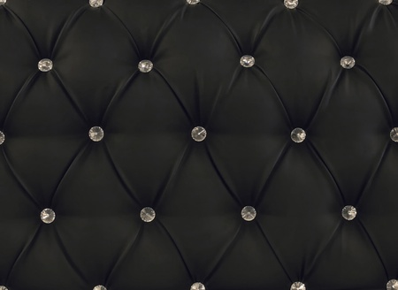 black leather upholstery Stock Photo - 9395399