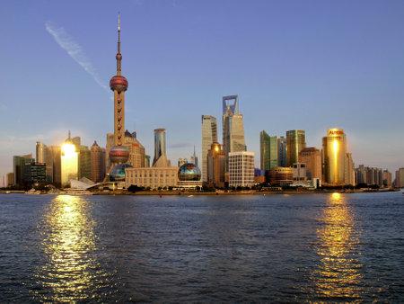 浦東、上海、中国 報道画像