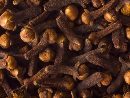 cloves food background Stock Photo