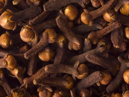 cloves food background Stockfoto