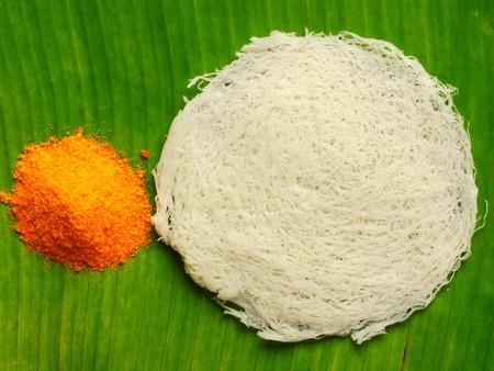 close up of indian putu mayam