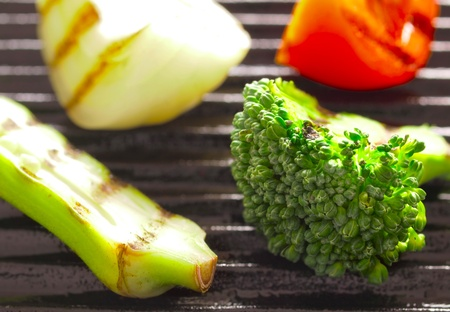 close up of grilled vegetables Stock Photo - 11310239