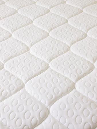 close up of a spring mattress Stock Photo