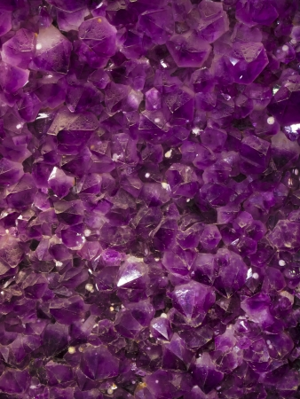 amethyst: close up of purple amethyst stones background