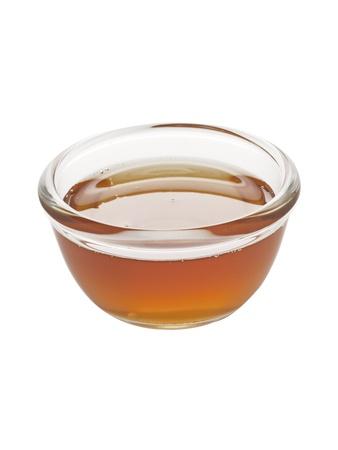 enhancer: close up of a bowl of sesame oil Stock Photo