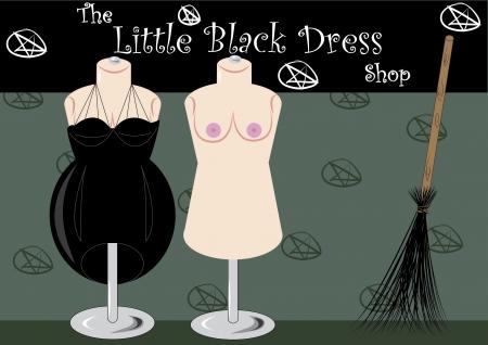 lair: the little black dress shop witch lair