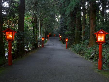 shinto: hakone japanese shinto shrine