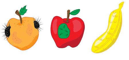 concern: genetically modified food public health concern concept vector illustration