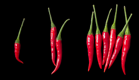 different levels of spiciness concept