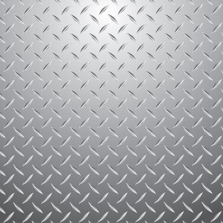 pavimento lucido: illustrazione vettoriale di la piastra metallica