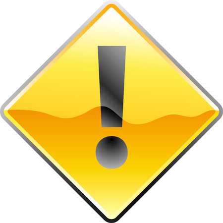 vector traffic sign for attention Stock Vector - 3025672