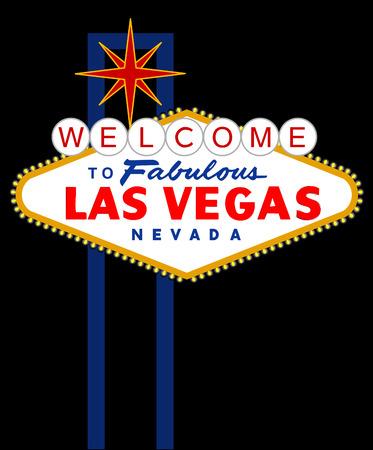 vector sign of Las Vegas