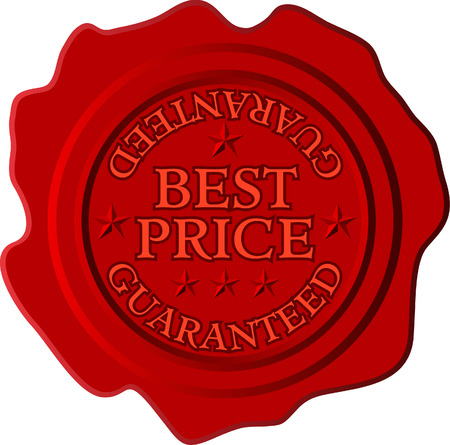 signet: vector con cera roja al mejor precio