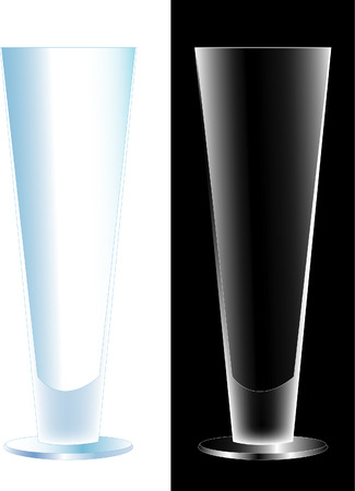 vector coctail glass Vector