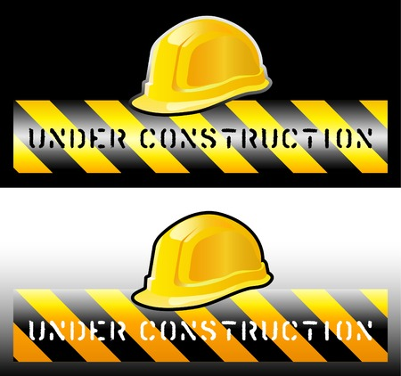 work safe: vector sign for the construction works