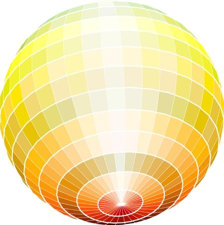 vector abstract sphere Vector