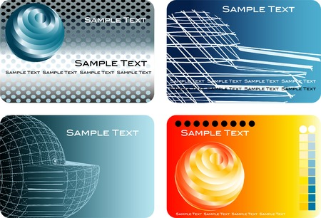 global trade: vector abstract backgrounds for bussines, finance, global trade, industry etc. with text in different layer Illustration