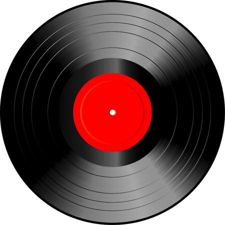 record: vector vinyl record Illustration