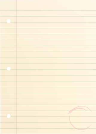vector illustration of the old blank paper Stock Vector - 3319539