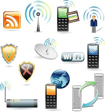 mms: vector web icons