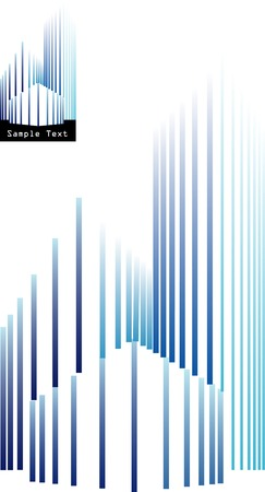 logo batiment: vecteur de signe pour l'immobilier d'entreprise
