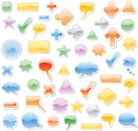vector soft clouds Stock Vector - 3680717