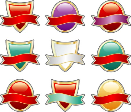 vector labels for various products like beverages, food etc. Stock Vector - 3928179