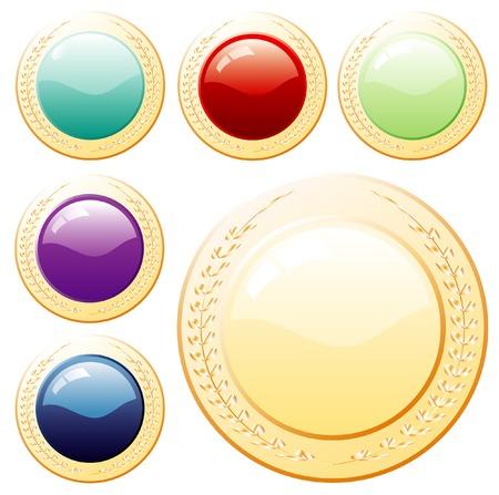 paraphernalia: vector buttons