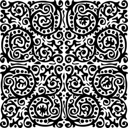 vector original abstract baroque design Stock Vector - 4115738