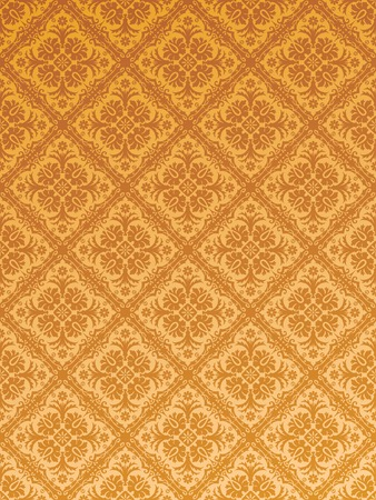 vector seamless repeating wallpaper Stock Vector - 4143357
