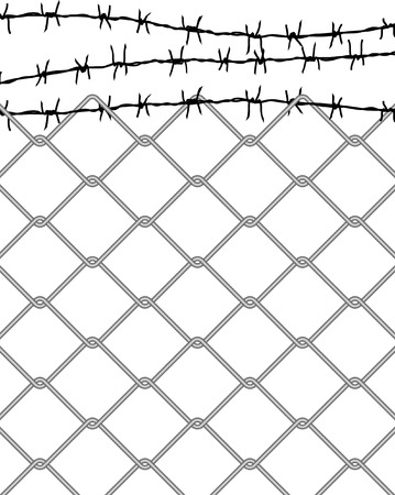 vector fence Stock Vector - 4159434