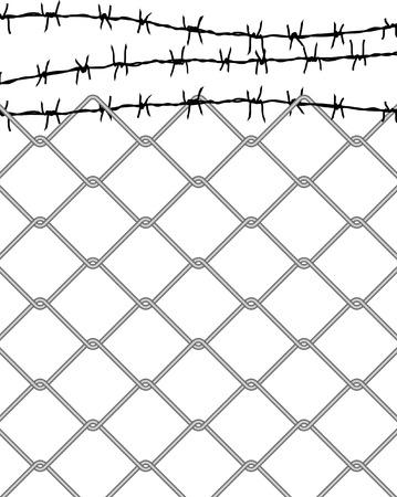 vector fence Stock Vector - 4159434