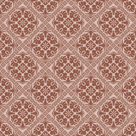 vector seamless wallpaper in chocolate color Vector