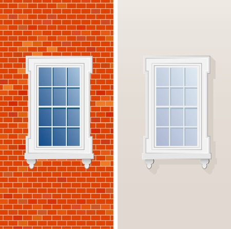 vector illustration of the window Vector