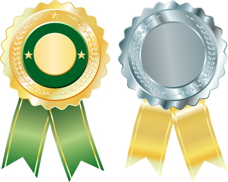 vector blank badges Vector