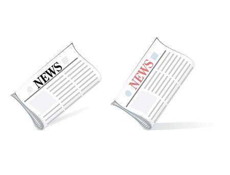 vector newspapers Stock Vector - 4519458