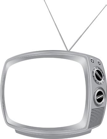 vecteur vintage télévision